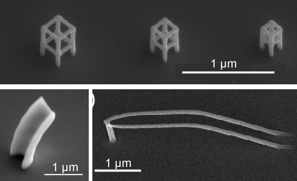 Three-dimensional interconnected magnetic nanocircuits