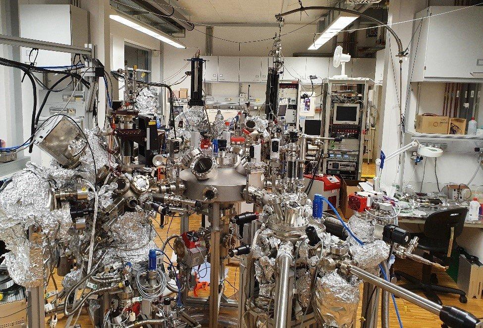 All in situ/ultra-high vacuum ionic liquid gating study